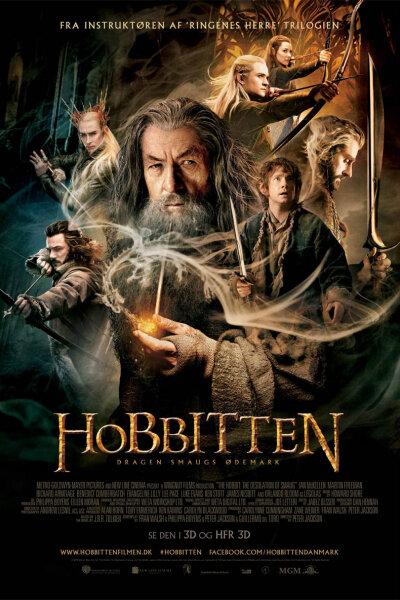 New Line Cinema - Hobbitten: Dragen Smaugs ødemark - 3 D