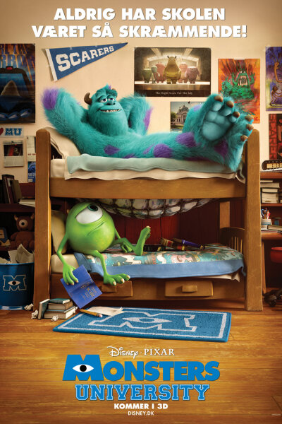 Pixar Animation Studios - Monsters University - 3 D