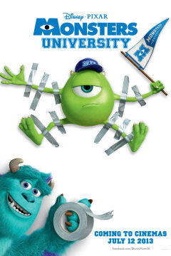 Monsters University - 2 D