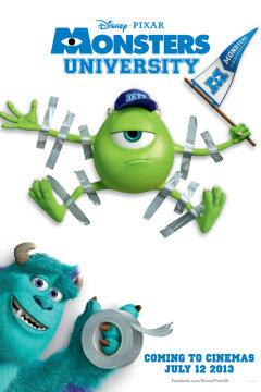 Monsters University - 2 D