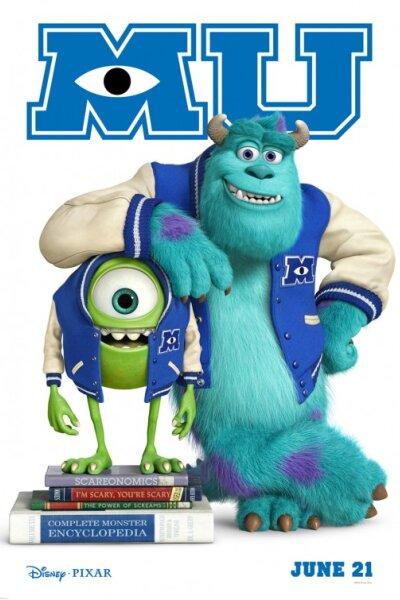 Pixar Animation Studios - Monsters University - Org. Vers. - 2 D
