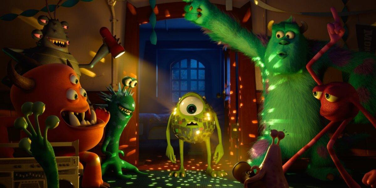 Pixar Animation Studios - Monsters University - Org. Vers. - 3 D