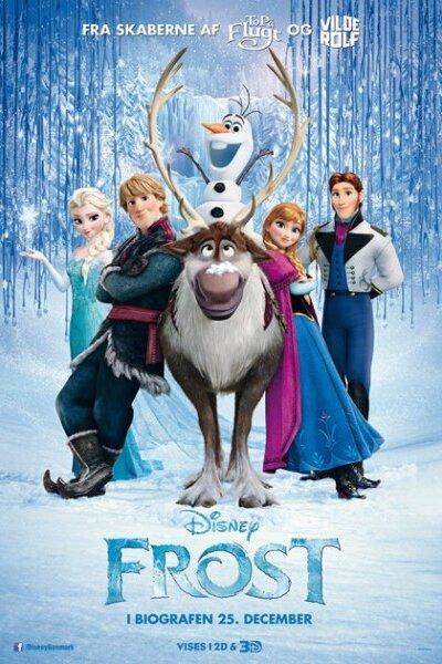 Walt Disney Pictures - Frost - 3 D - dansk tale